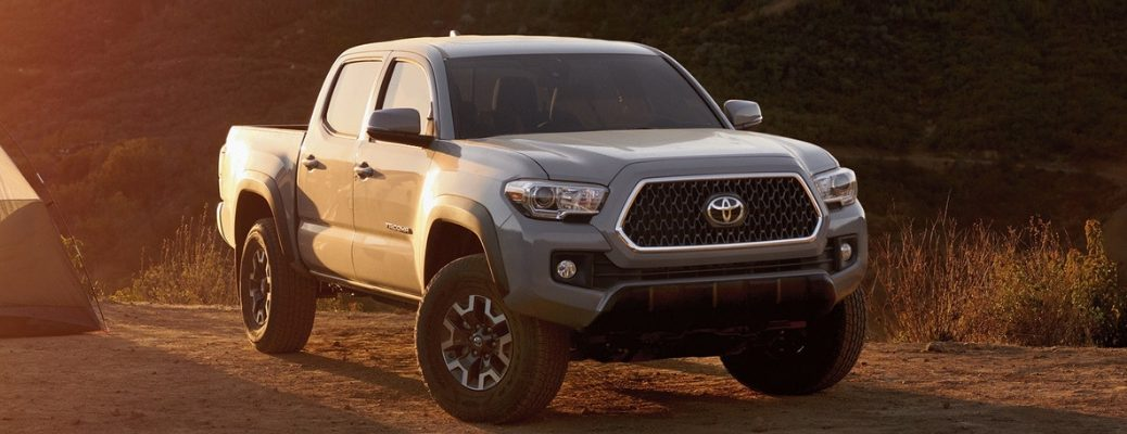 Front View of 2019 Toyota Tacoma in Metallic Paint Color