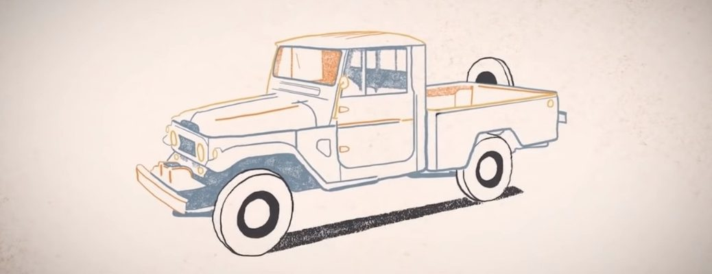 Toyota Doodle of Land Cruiser