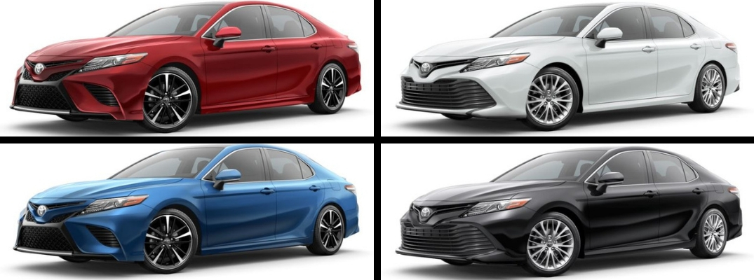 What Are The 2019 Toyota Camry Exterior Paint Color Options