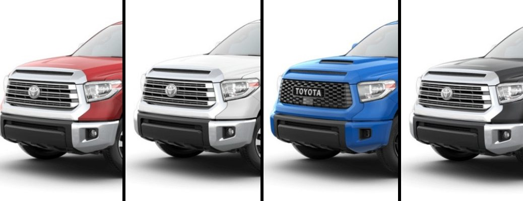 2019 Toyota Tundra in Red, White, Blue, and Black Paint Colors