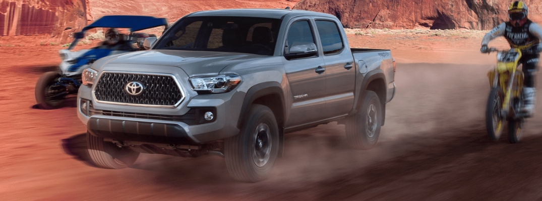 What Are The 2019 Toyota Tacoma Engine Options Serra Toyota Of Decatur