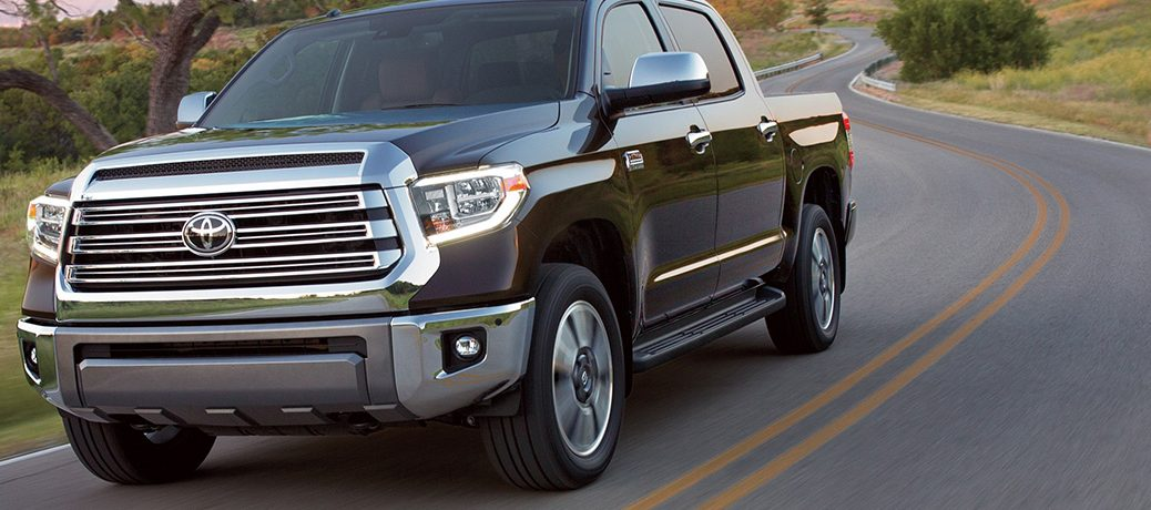 2019 Toyota Tundra Barreling Down Country Road