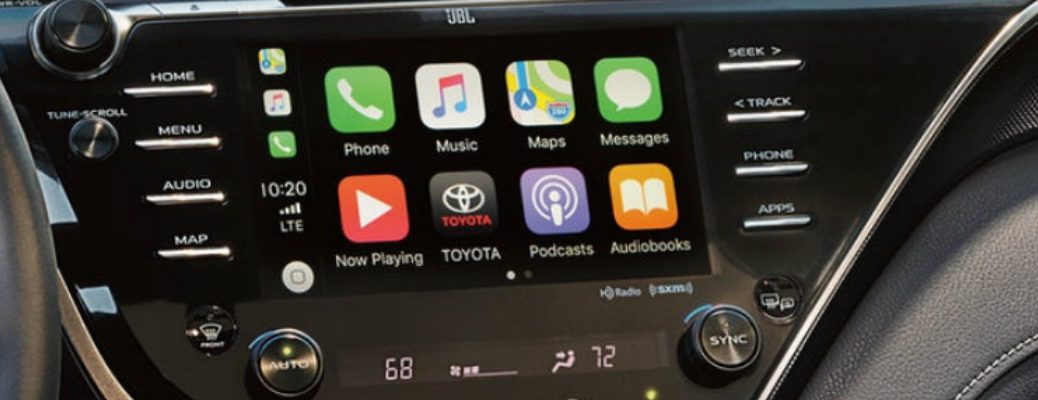 Apple CarPlay® in 2019 Toyota Camry
