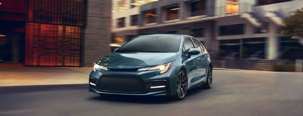 2020 Toyota Corolla Driving on road