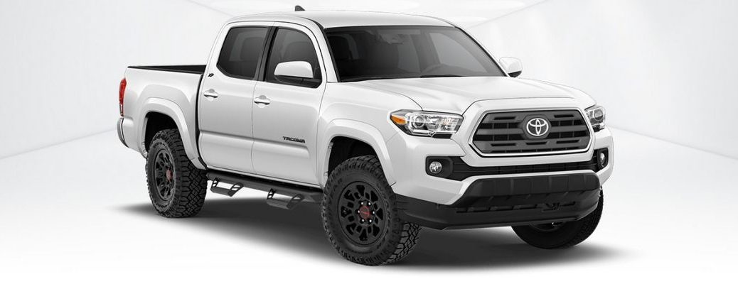 White Toyota Tacoma XP Predator Package