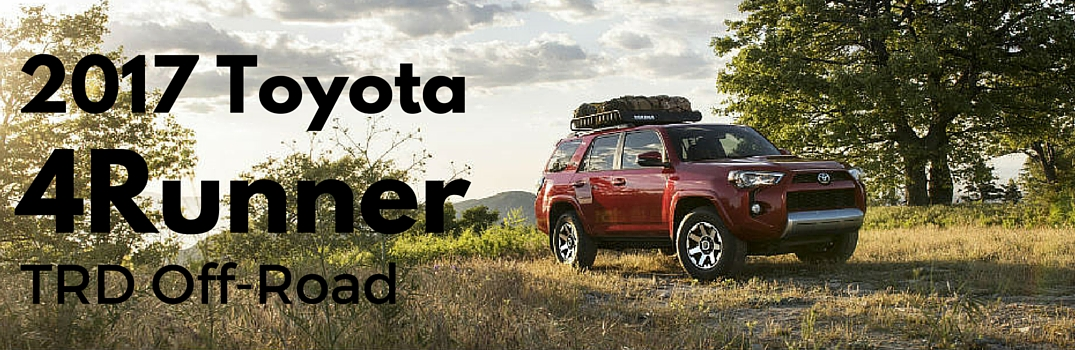 Toyota Adds Two New Grades to the 2017 4Runner