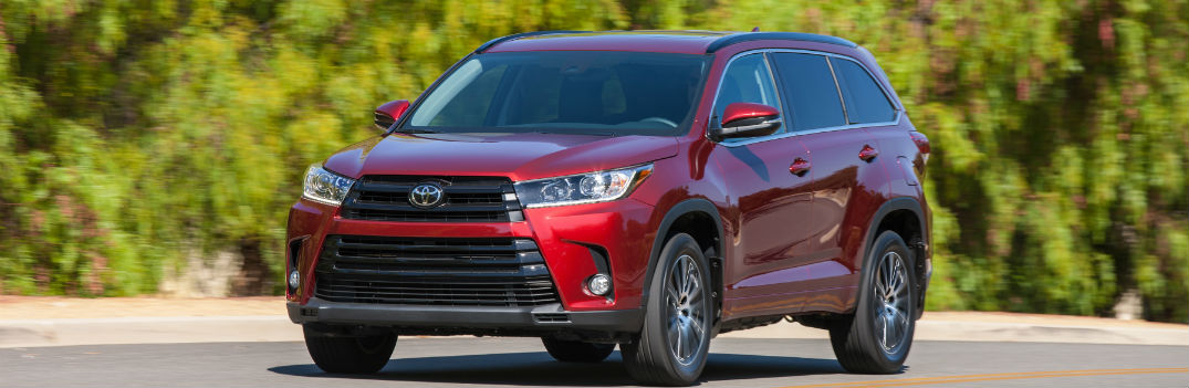 The 2017 Highlander Gets More Power, More Safety and More Trims