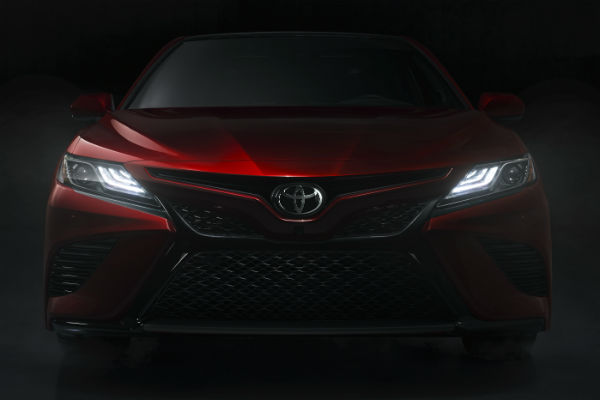 When will the 2018 Toyota Camry be available?
