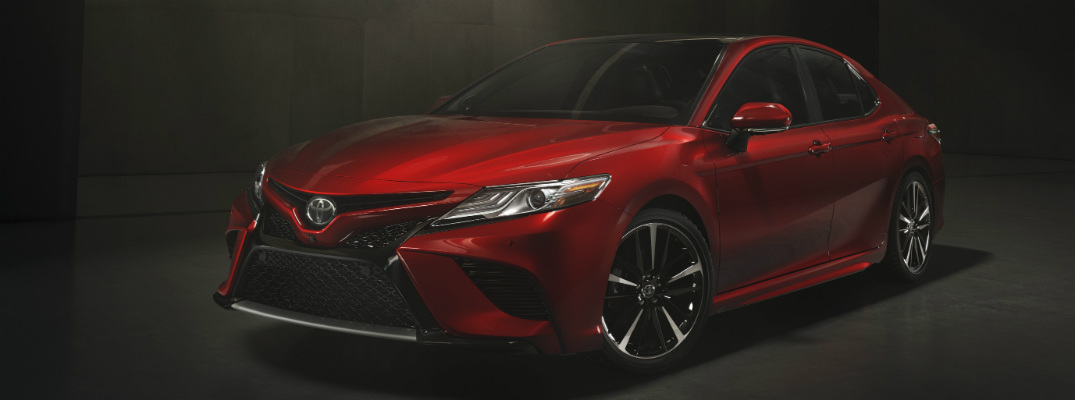 2018 Toyota Camry Color Options