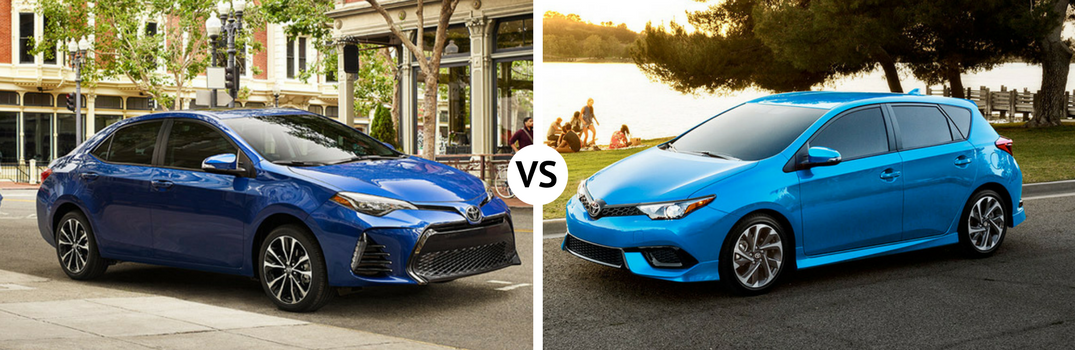 Differences between Toyota Corolla and Corolla iM