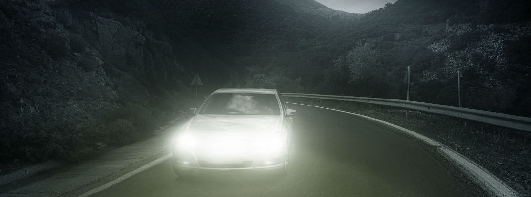 Headlights help you see and be seen by other cars on the road