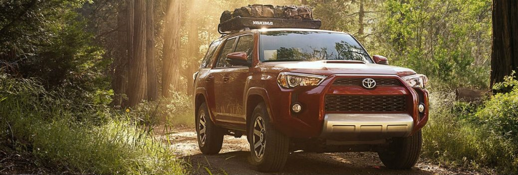 2018 Toyota 4Runner parked outside