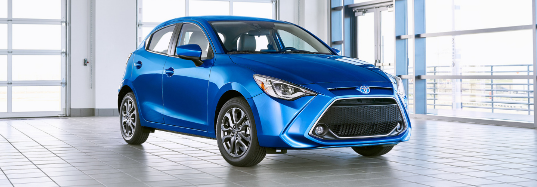 Information on the 2020 Toyota Yaris Hatchback