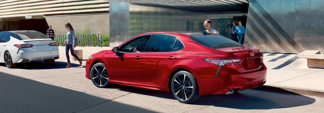 What Trim Levels are on the 2019 Toyota Camry?