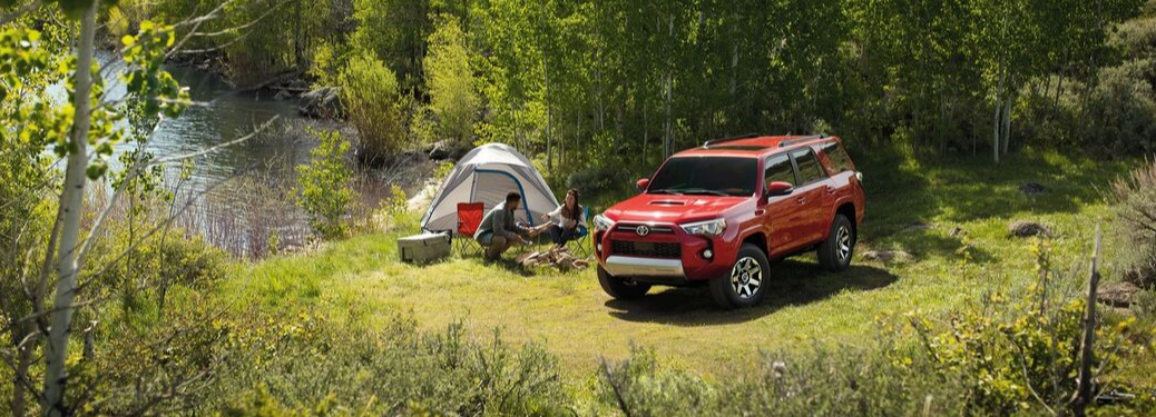 2020 Toyota 4Runner Parked outside in field