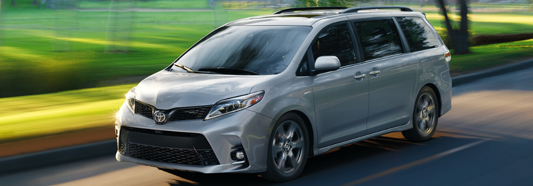 What Color Options are on the 2020 Toyota Sienna?