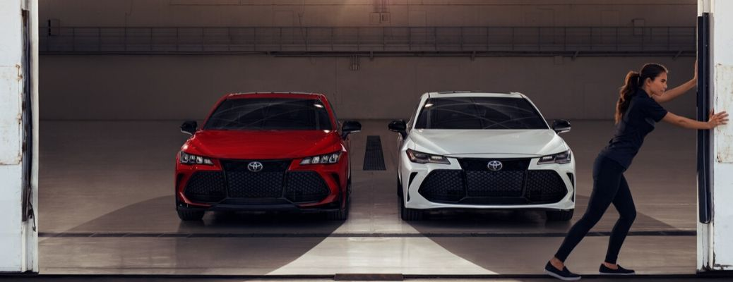 2020 Toyota Avalon parked in a garage