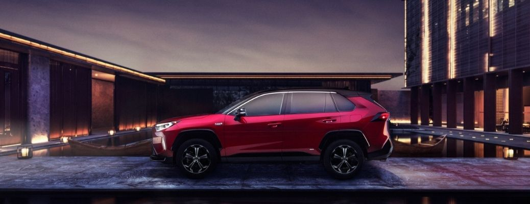 2021 Toyota RAV4 Prime parked side view