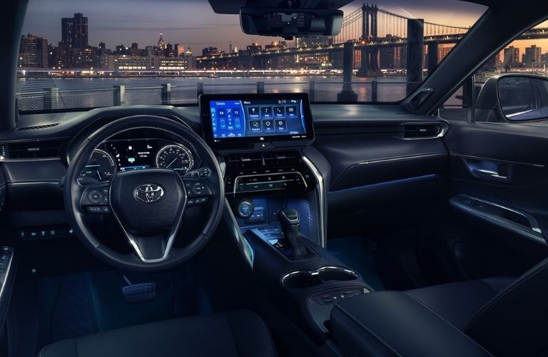 2021 Toyota Venza interior front view