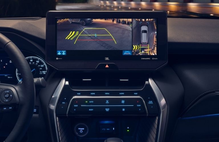 2021 Toyota Venza safety screen and display