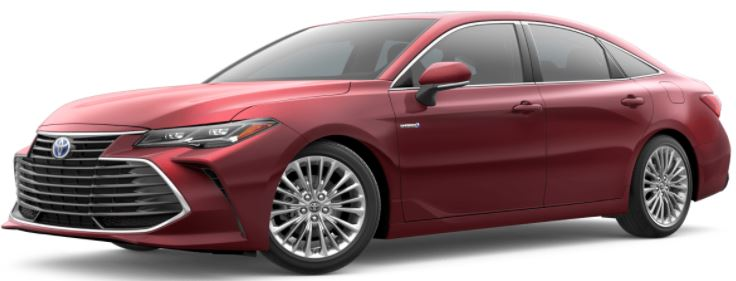 2021 Toyota Avalon Ruby Flare Pearl