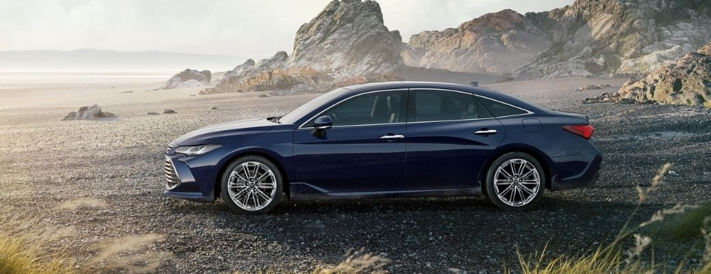 2021 Toyota Avalon parked outside side view