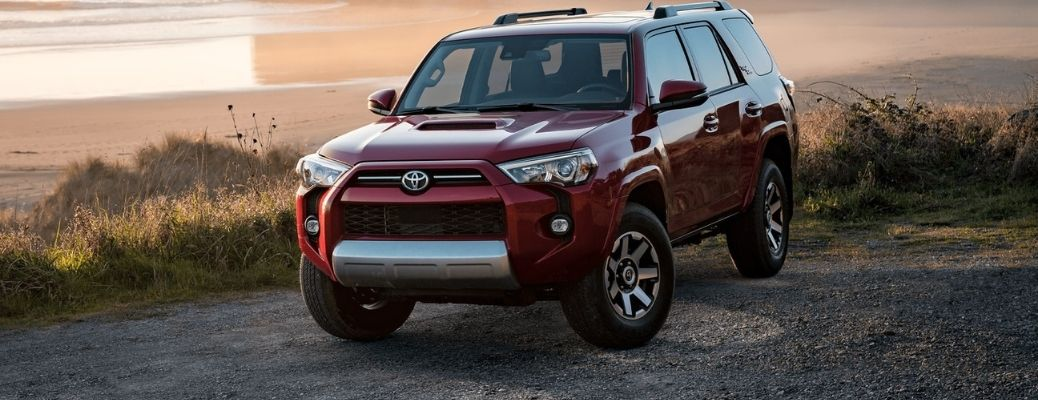 2021 Toyota 4Runner parked outside front view