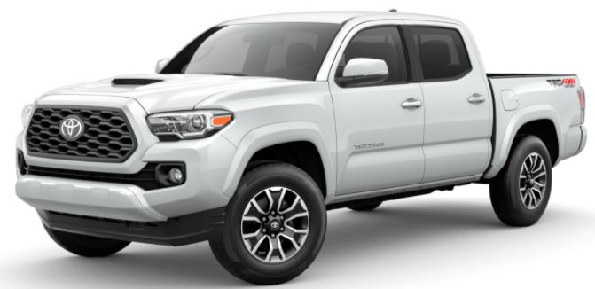 2021 Toyota Tacoma Wind Chill Pearl