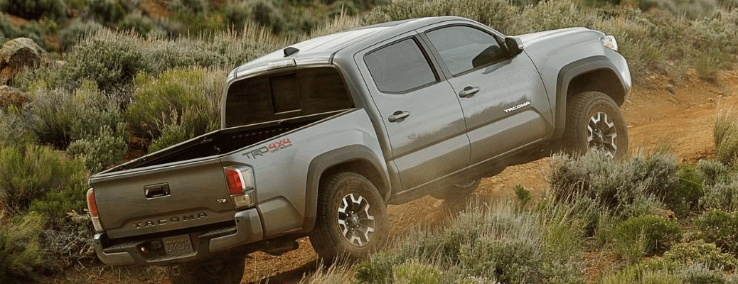 2021 Toyota Tacoma driving up hill