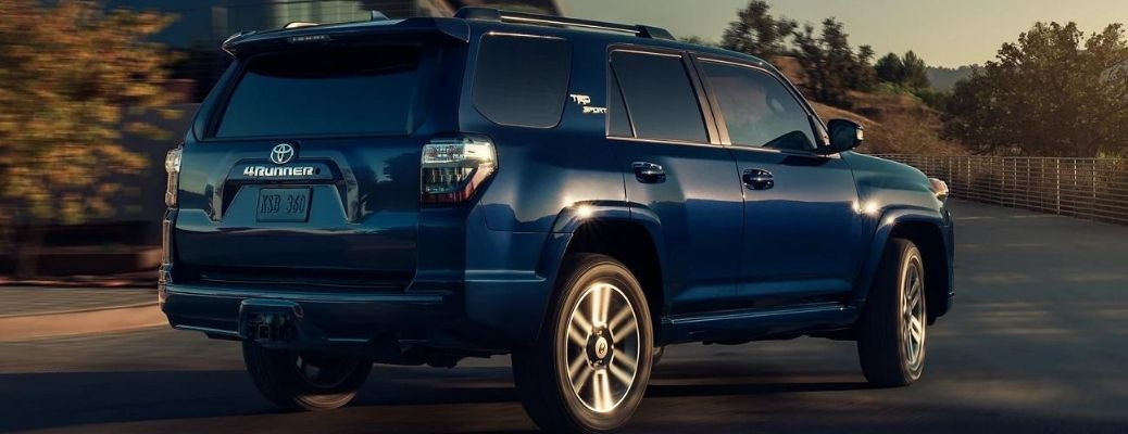 Back view of the 2022 Toyota 4Runner