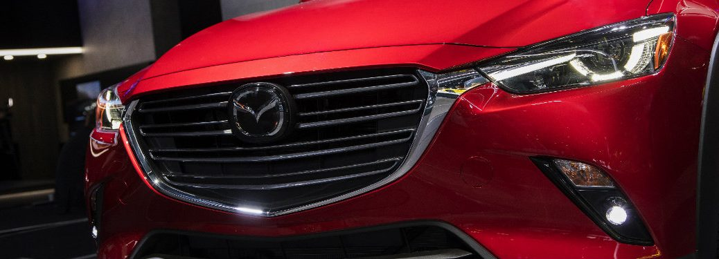 red mazda cx-3 grille
