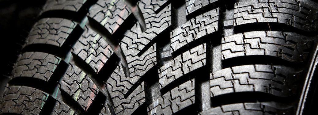 deep tire tread