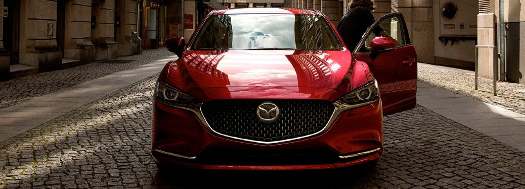 red 2020 Mazda6 front view