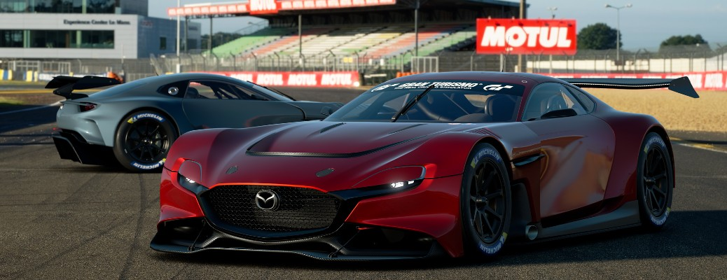 Check Out the Mazda RX-Vision GT3 Concept Virtual Vehicle