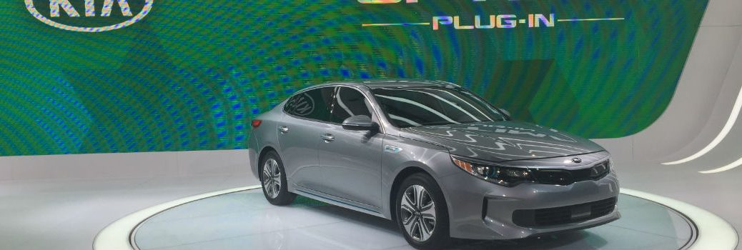 2017 Kia Optima Plug-in Hybrid revealed at Chicago Auto Show