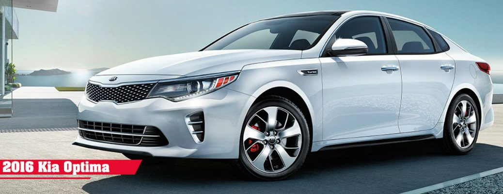 2016 Kia Optima Color and Customization Options