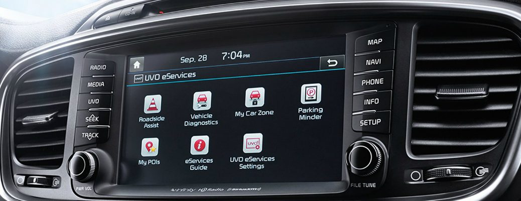 What are some of the Advanced Technologies in Kia Vehicles? UVO