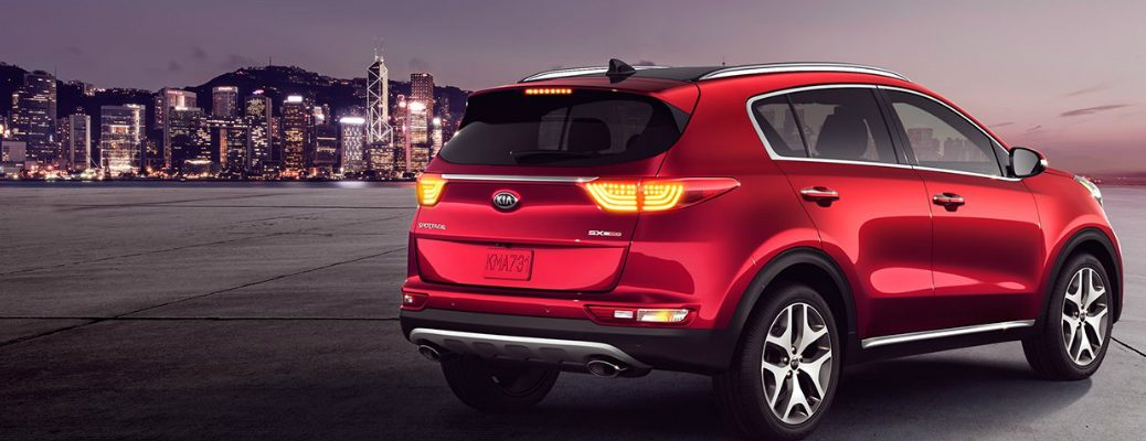 2018 Kia Sportage Parked Away From the City