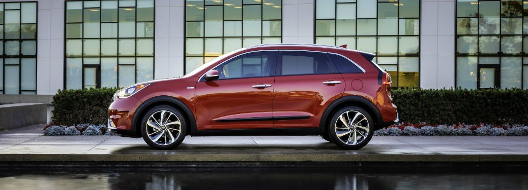 2018 Kia Niro exterior side red