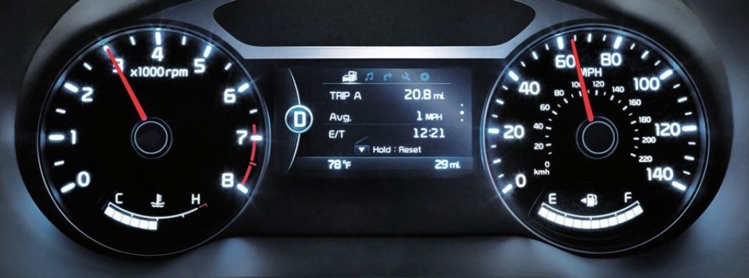 What Do The Dashboard Warning Lights On Your Kia Vehicle Mean