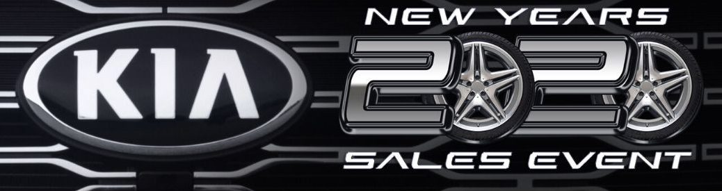 Kia of Irvine New Year's 2020 Sales Event Banner