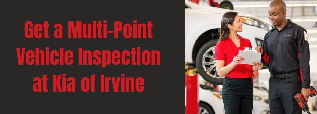 Get a Multi-Point Vehicle Inspection at Kia of Irvine banner