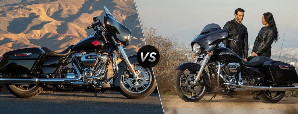 What's the Difference Between a Harley Davidson Electra Glide® and Street Glide?