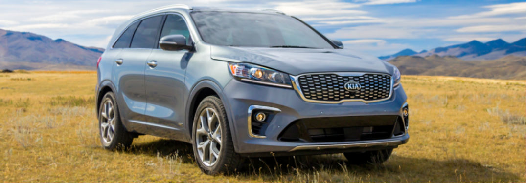 What are the paint colors of the Kia Sorento?