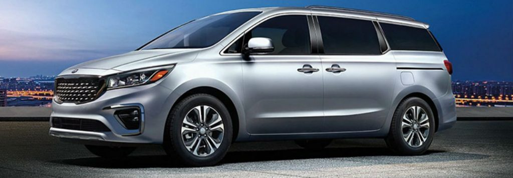 2021 Kia Sedona in gray