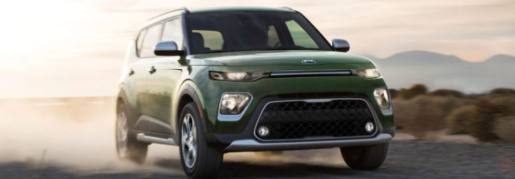 2021 Kia Soul in green