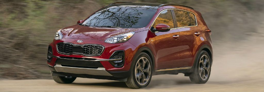 What technology does the Kia Sportage offer?