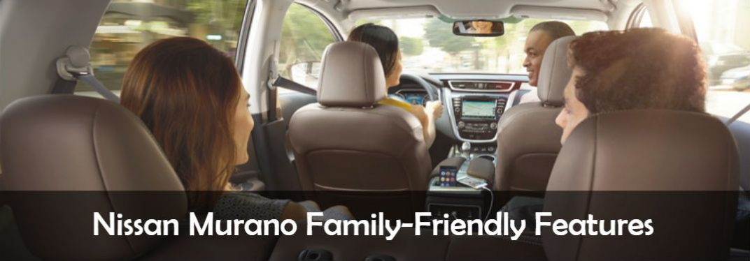 2017 Nissan Murano Family-Friendly Features