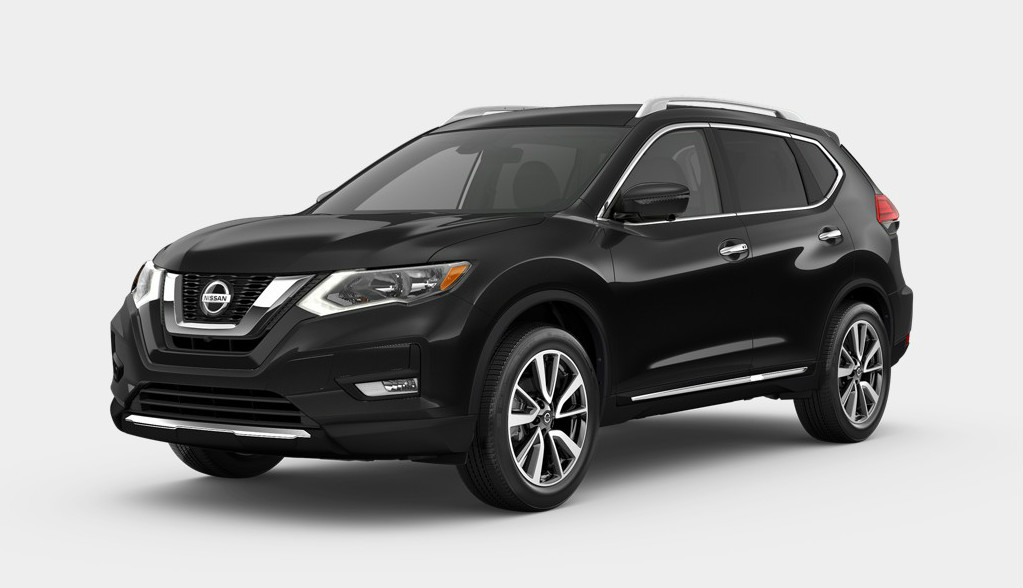 2020 Nissan Rogue Magnetic Black Pearl
