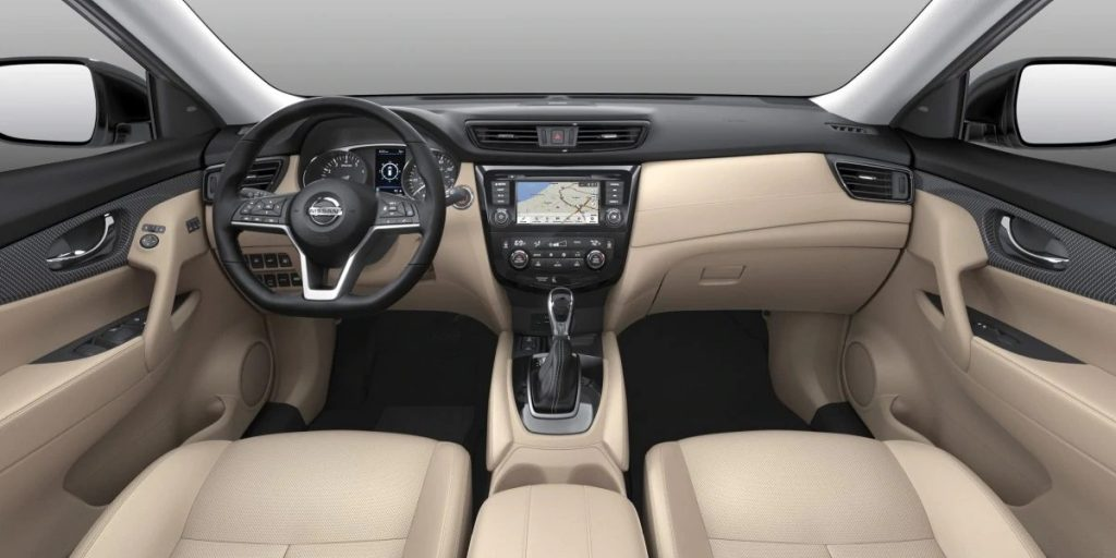 2020 Nissan Rogue Almond Leather